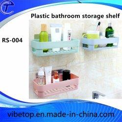Prateleira de armazenamento de plástico 2018 para cozinha e banheiro (RS-004)