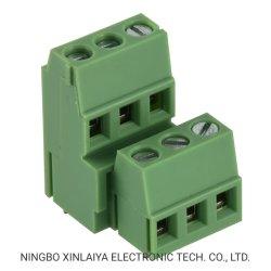 Bornier à vis Xinya pcb connecteur double rangée 5.0/5.08mm