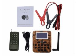 50W el altavoz reproductor MP3 Señuelo de aves Control remoto de llamada de aves de caza al aire libre
