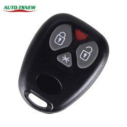 Repalcement Auto-Schlüsselkasten für Tasten-Fernunbelegter Deckel-Schlüsselshell der Brasilien-Warnungs-4
