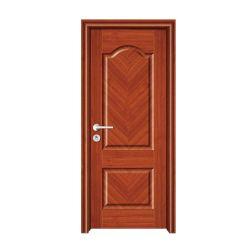 純木の内部ドアの最新のドアデザイン現代ホテルの合板のドア