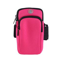 Sacchetto corrente del braccio di ginnastica del telefono mobile dei sacchetti del bracciale del coperchio impermeabile della cinghia