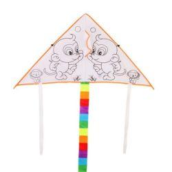 Großhandelsdrachen des karikatur-DreiecksDIY für Kinder