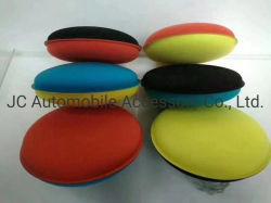 Mode couleur Two-Side Soin de Voiture Voiture applicateur mousse de cire