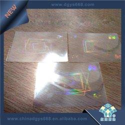 Sticker van het Hologram van de fabriek de Naar maat gemaakte Lichte Weerspiegelende