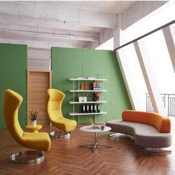 Oval deu forma ao meio sofá do círculo sofás semicirculares do sofá do lazer sofá redondo combinação sofá Designer (HY-sofa02)