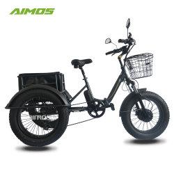 [48ف] [750و] إطار العجلة سمين يطوي 3 عجلة شحن درّاجة ثلاثية كهربائيّة