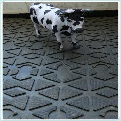 Stall-Bodenbelag-Pferden-schüchtern beständige Blatt-Matten, Pferden-Schlussteil-Gummiblatt-Matten, Viehbestand Matten-Gummi ein,