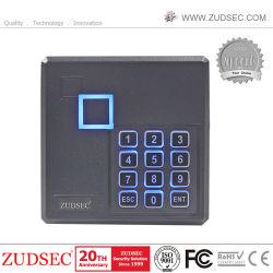 Lezer van het Toetsenbord van de Kaarten van de Markering RFID Keyfob van het Toegangsbeheer Wiegand26 van de Lezer van het Identiteitskaart van Em van de Nabijheid RFID van Zudsec 125kHz de Waterdichte