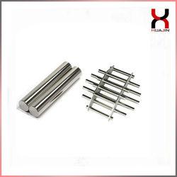 Barra magnética de neodímio permanente NdFeB magneto da haste de ferro para remover/cerâmica/plásticos/Tratamento de Água/Magneto de Filtragem de Óleo