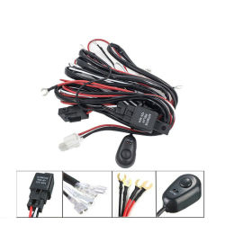 12V 40A Универсальный комплект жгута проводов электропроводкой для автомобиля под руководством