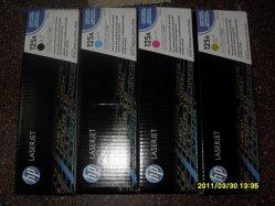 De hete Kleur LaserJet 1215/1315/1515/1518 van de Reeks van de Patroon CB540 van de Verkoop Echte (125A)
