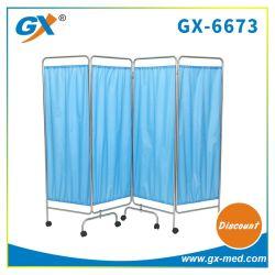Cuatro de la pantalla Seaction cortina para Hospital Sickroom (GX-6673)