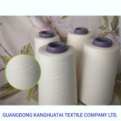 Ne80/1 100% Gekamd het Katoenen Breien van het Garen Polyester Gesponnen Wit van de Stof van het Garen Textiel Ruw