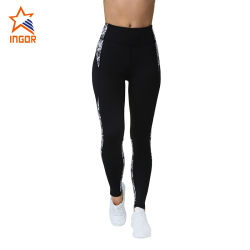 Impressão por sublimação de ioga Activewear Calças de ioga Fitness mulheres personalizada