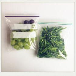 يعبّئ مبلمر سحاب حقيبة تعليب نباتيّ