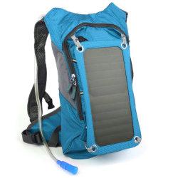 태양 수화 책가방 iPhone를 위한 방광 2개 리터를 가진 태양 전화 충전기 7개 와트