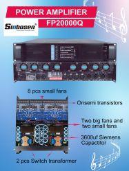 De beste Beroeps van de Fabrikant Fp20000q van China van de Kwaliteit de Meeste Versterker van de Macht