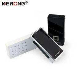 KERONG Electric digital de huellas digitales QR código oculto a casa,Oficina,gimnasio de bloqueo de puertas de armario armario de cajón con alarma electrónica
