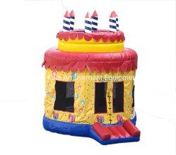 Home usados Mini inflável fechado de PVC castelos insufláveis para crianças