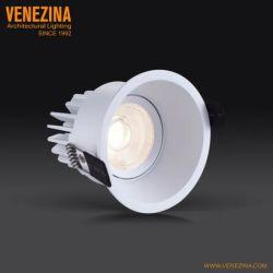 R6867 6W/10 Вт глубоких, антибликовым покрытием и светодиодной подсветки с фиксированной Круглый потолочный фонарь направленного света светильники акцентного освещения с регулируемой яркостью индикатор початков затенения