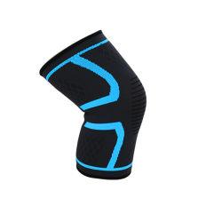 Los deportes al aire libre Rodilleras Fitness Ciclismo de Montaña de tejido elástico y transpirable de Protección de silicona