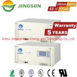 Samsung LiFePO4 5kwh 48V 100Ah lithium Banque de la batterie d'alimentation pour système solaire