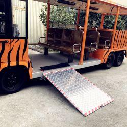 Manuelle Rollstuhl-Rampe für Stadt-Bus mit der Kapazität 350kg, Rollstuhl-Inhaber zu helfen, in Bus einzusteigen