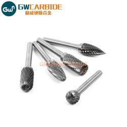 O carboneto de tungsténio fundido sólido rebarbas rotativo para ferramentas de corte