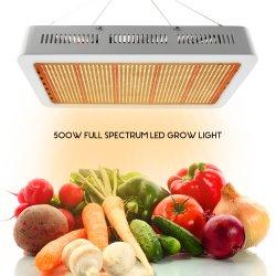 Xinjia 110V 500W Blanc Chaud jaune panneaux LED de semis croître