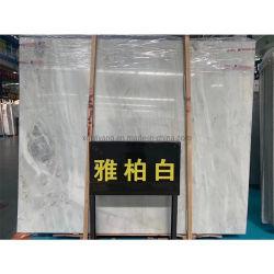 Natural Bianco/Carrara/Fishbelly/flocon de neige mur en pierre de marbre blanc/table/d'un comptoir/plancher pour salle de bains cuisine