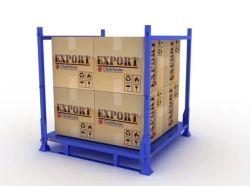 Fordable Caja metálica para rack de material pesado marco Facturación Facturación
