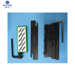 Tgb26-3 2mm 3mm de ancho Torno CNC Mecanizado de soporte de accesorios Cortadora de despedida de ranurado de metal de corte de hojas de la herramienta de giro