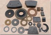 Freio de industriais e blocos de fricção / Segmentos / pás adesivas