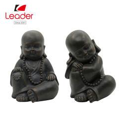 BSCI 호환된 공장 Polyresin 정원 훈장, 아기 Buddha 주문을 받아서 만들어진 동상