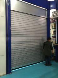 С дистанционным управлением безопасности вертикального ходового поднимите металлическую PU Сэндвич панели вид в разрезе ролика двери гаража