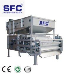 廃水処置の市企業ベルトフィルター出版物の沈積物の排水機械