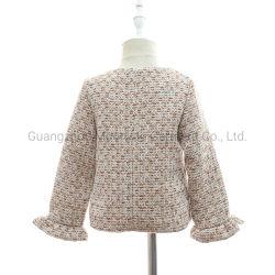 Fantastische formale Baby-Luxuxtweedjacke mit Perlen-Tasten für das Großhandelskind-Kleiden