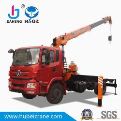 prix d'usine construit de façon personnalisée HBQZ grues hydrauliques de bras de flèche télescopique grue de 10 tonnes de fret SQ10S4