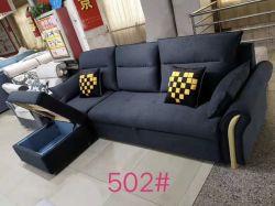 Base di sofà semplice moderna del tessuto per il salone dell'appartamento della villa della camera da letto dell'hotel