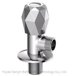 Accesorios de Baño Sanitarios wc Lavadero de latón el zinc de diamantes de la válvula de ángulo