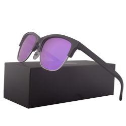 Usom Tac lentille rétro polarisé de lunettes de changement de couleur grand format classique personnalisé des lunettes de soleil cas