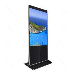 LCD van de Machine van de Reclame van de Informatie van Aiyos de Vertoning van het Scherm van de Aanraking