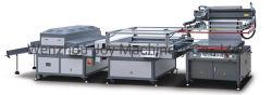 3/4auto 의복을%s UV 치료 기계 기계 팔을%s 가진 고속 실크 스크린 인쇄 기계 기계