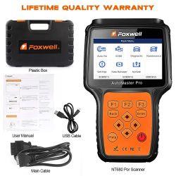 Foxwell Nt680 PRO все системы все делает сканер с помощью специальных функций