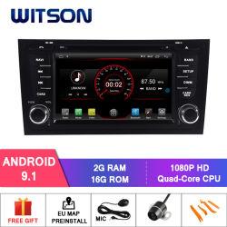 Auto DVD GPS des Witson Vierradantriebwagen-Kern Android-9.1 für Audi A6/Audi S6/Audi RS6 1080P HD Video