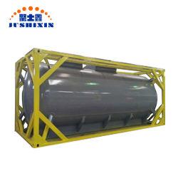 Промышленные 20 ФУТОВ 40 ФУТОВ пальмового масла растительного масла сырую нефть перевозки жидких ISO углеродистой стали цистерны с Csc