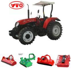 De Machines Yto 754 van de landbouw 75HP 4WD de Tractor van het Landbouwbedrijf