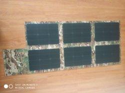 120W 12V de Draagbare Vouwbare Vouwende Zak van de Lader van het Zonnepaneel ETFE met 5V de Haven van USB voor Powerbank Laptop Cellphones
