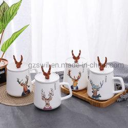 Fashion Promotion Tasse de voyage en céramique blanche/tasse à café/gros Mug porcelaine